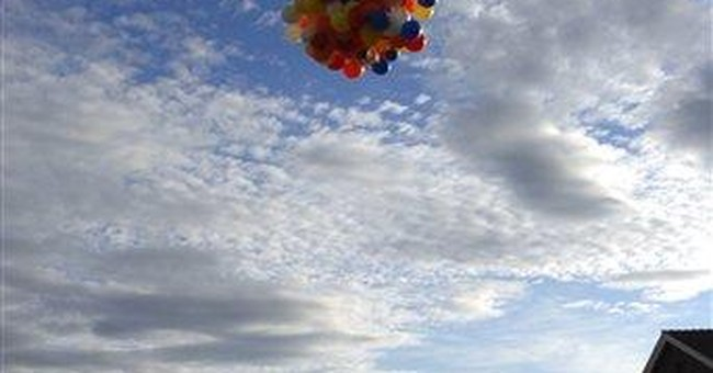 Lawn chair balloonist to ride again, with co-pilot