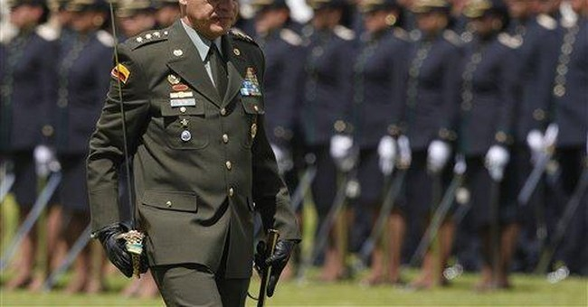 Colombia's legendary police chief heads to Mexico