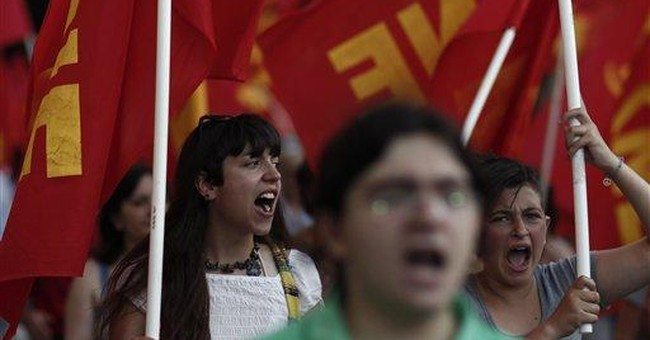 Wary Greeks look to election with trepidation