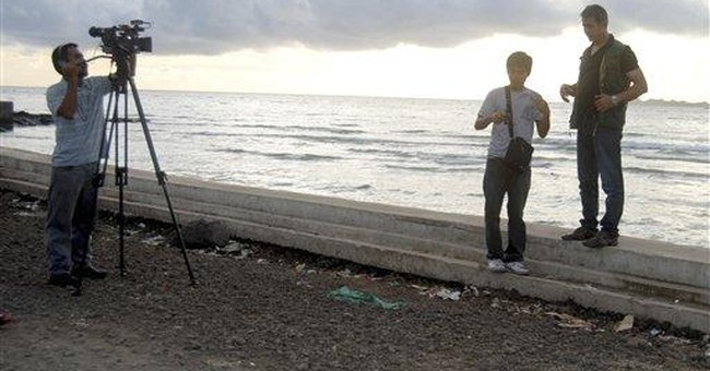Veteran Mideast TV reporter missing in Philippines