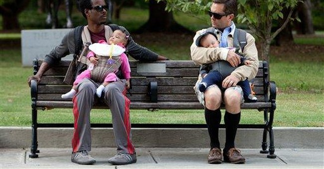 Is there a Dad Divide to go with the Mommy Wars?