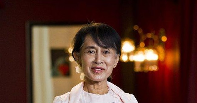 Excerpts from Suu Kyi's Nobel Peace Prize speech