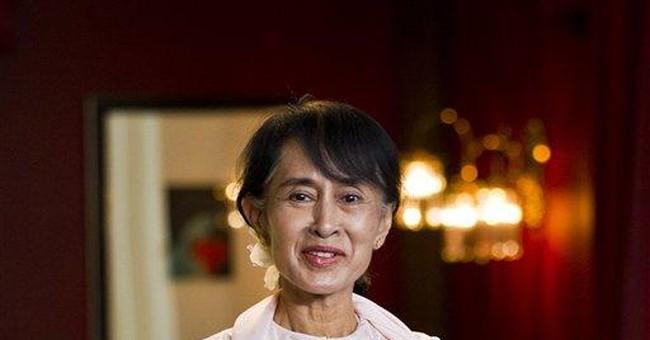 Excerpts from Suu Kyi's Nobel Peace Prize speech