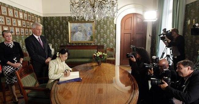 Suu Kyi: Nobel Peace Prize shattered my isolation
