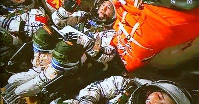 AP PHOTOS: China sends first woman into space