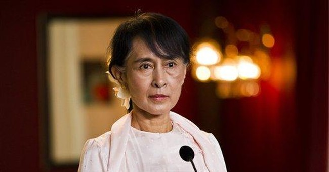 Highlights of Suu Kyi's Nobel Peace Prize speech