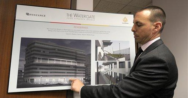 40 years on, Watergate crime scene is forgotten