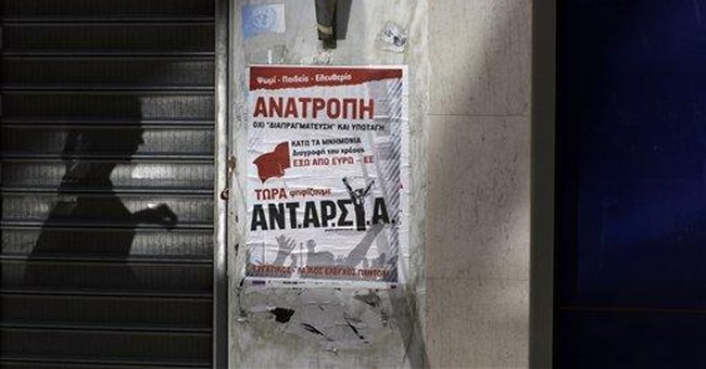 Greeks to vote with a global audience