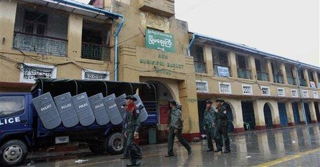 Myanmar ethnic violence death toll put at 50