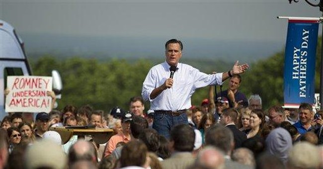 Romney campaigns with grandchildren