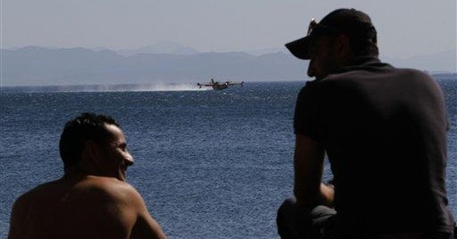 Fires across southern Greece seen abating