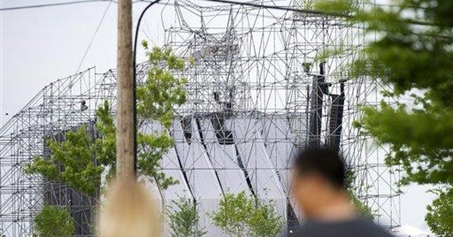 Radiohead drum technician killed in stage collapse