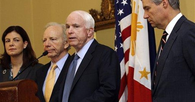 US senators see no clash with China in Asia