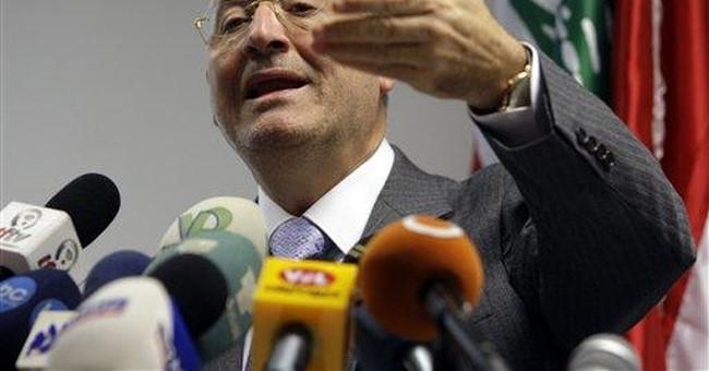 Lebanese blame pilot error for 2010 air crash