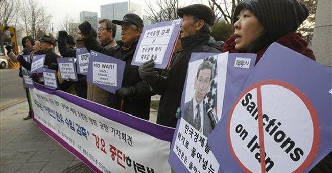 US urges South Korea to cut Iranian oil imports