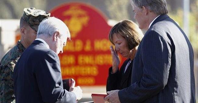 Calif. family of fallen Marine given Navy Cross
