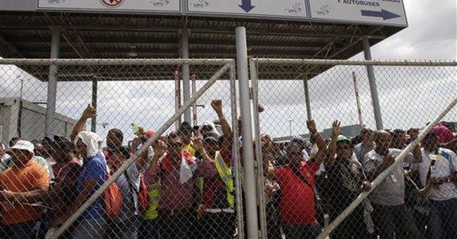 Workers strike Panama canal expansion project