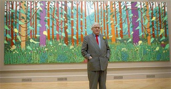 David Hockney revisits English roots for new show