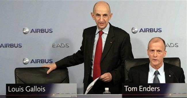 Airbus takes record orders in 2011, beating Boeing