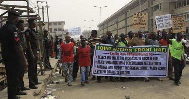 Nigeria strike a flashback to the military era