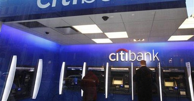Being international isn't sexy anymore for Citi