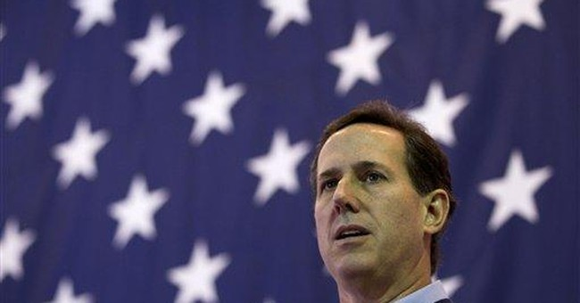 Santorum fights back against critics with barbs