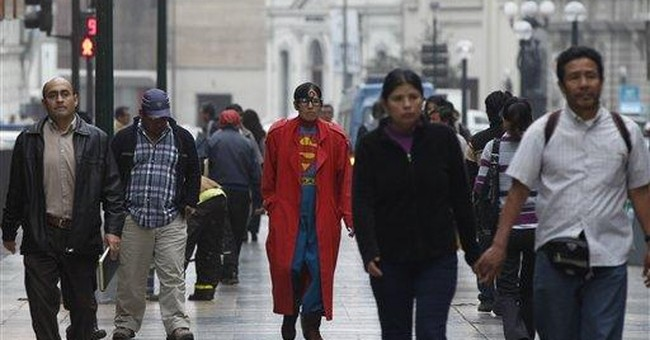 Lima's unlikely superhero