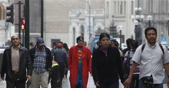 Lima's unlikely superhero