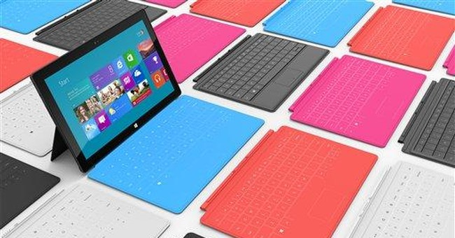 List of Microsoft tablet models announced Monday