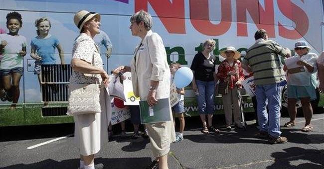 Nuns start tour protesting Republican budget plan