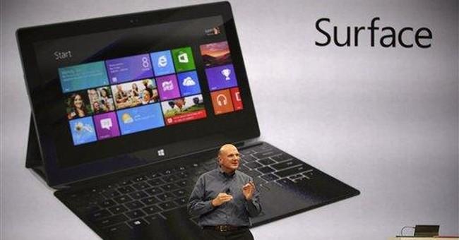 Microsoft tablet risks alienating PC makers