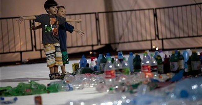 Garbage Guanabara Bay from Brazilian artist Muniz