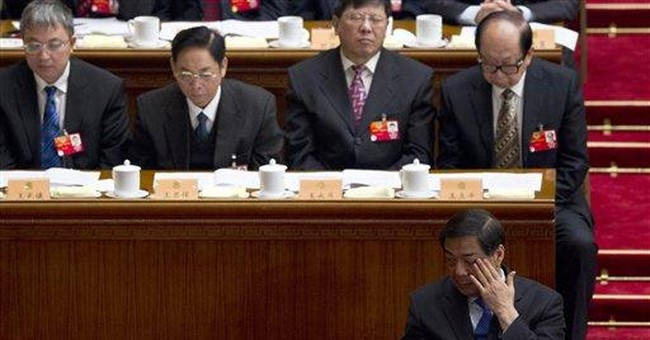 China official says scandal damaged party's image