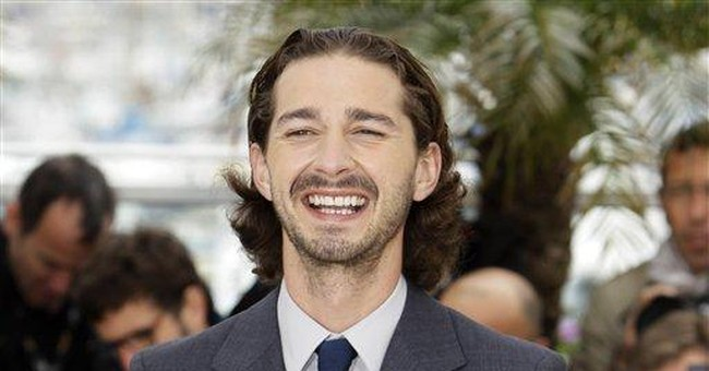 Shia LaBeouf in the buff for Sigur Ros video