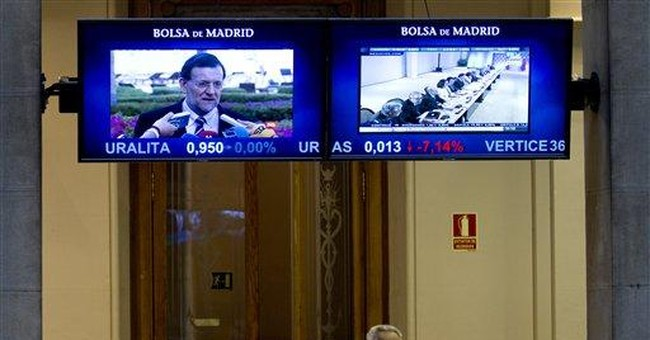 Spain crisis: Bond yield hits bailout danger zone