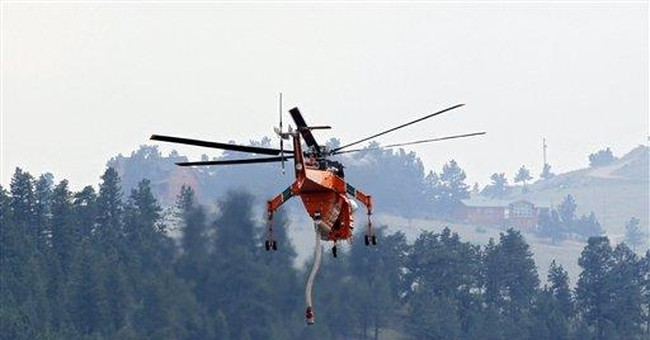Colorado wildfire now 50 percent contained