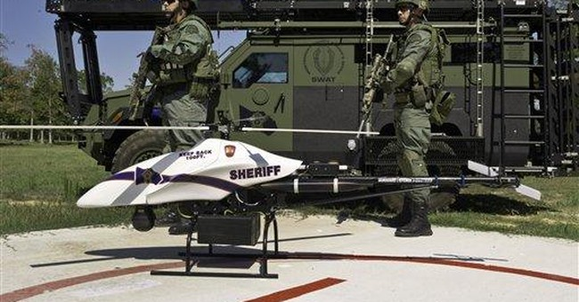 Talk of drones patrolling US skies spawns anxiety