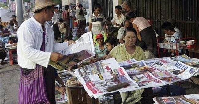 Myanmar journalists win battles, but war not over