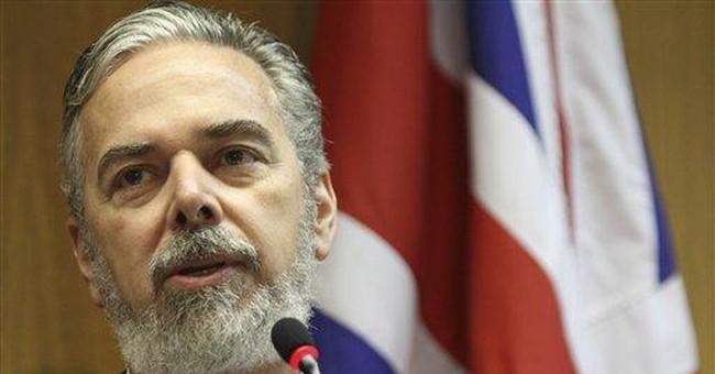 British foreign secretary visits Brazil