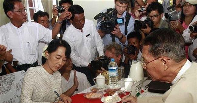 Suu Kyi registers for seat in Myanmar's Parliament