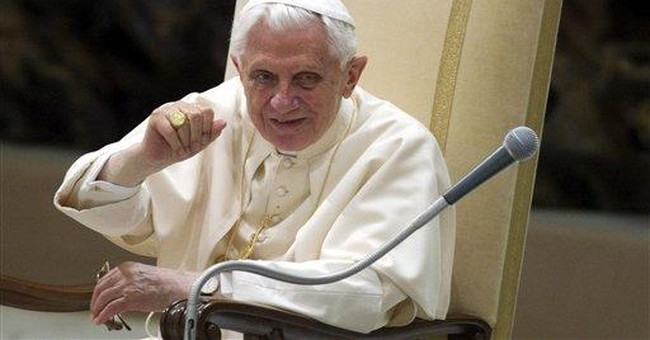 Pope hits out at `radical secularism'