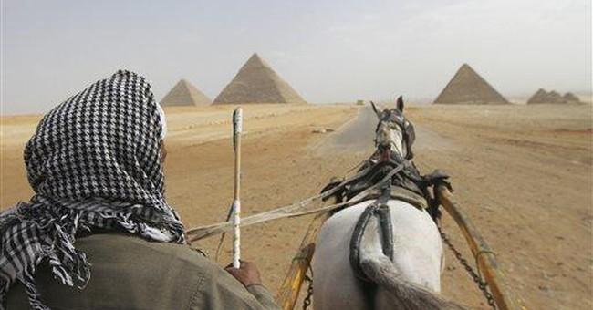 Egypt tourism receipts slip nearly 30 pct in 2011
