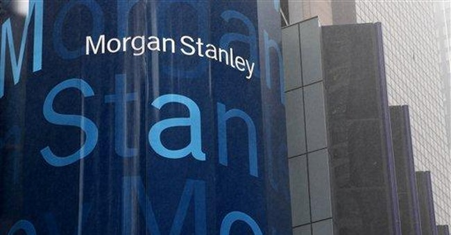 Morgan Stanley's loss is narrower than expected
