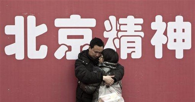 Chinese hunker down for annual holiday travel rush
