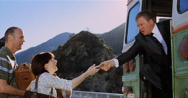 Priceline sends Shatner's Negotiator over a cliff