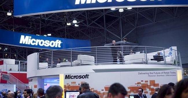 Microsoft 2Q beats Street despite soft PC market