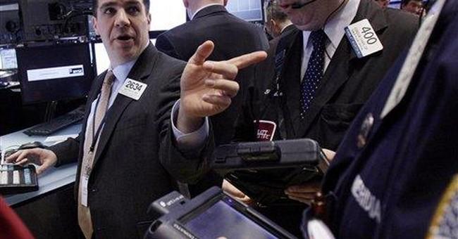 Stocks add to steady climb; Dow gains 45