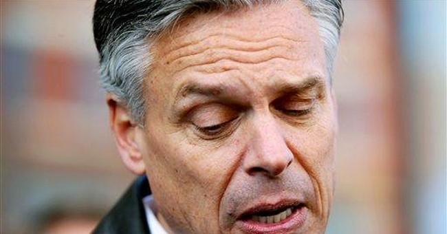 With focus on Iowa, Huntsman continues NH effort