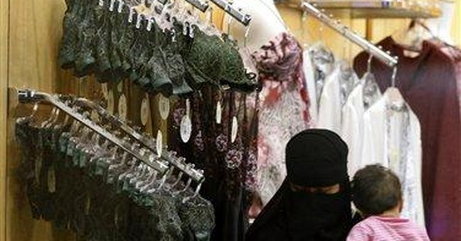 Saudi to apply law for women only to sell lingerie