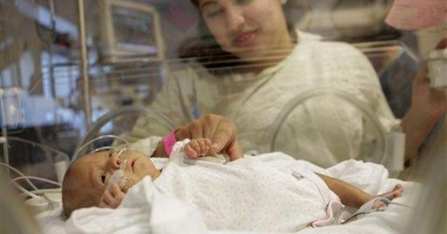 LA hospital prepares to send tiny baby home